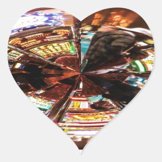 Bet On It Heart Sticker