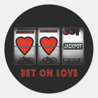 Bet on Love Sticker