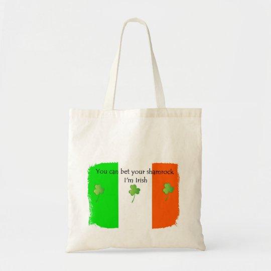 Bet your Shamrock I'm IRISH Tote Bag