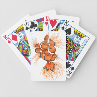 Beta Clown Bicycle Playing Cards
