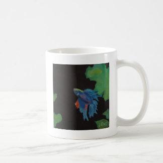 beta fish coffee mug
