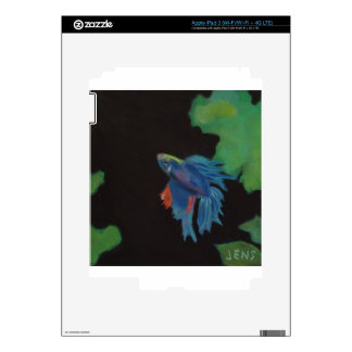 beta fish iPad 3 skin