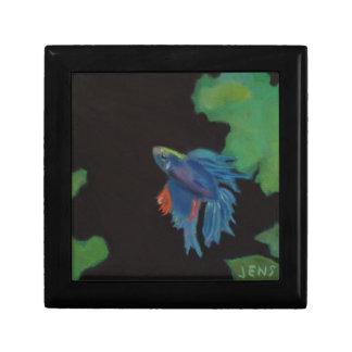 beta fish jewelry box