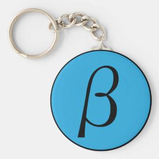 Beta Keychain