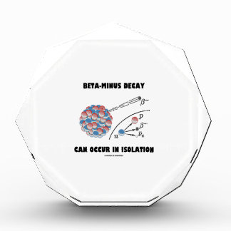Beta-Minus Decay Can Occur In Isolation (Physics) Award
