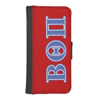 Beta Theta Pi Blue Letters iPhone SE/5/5s Wallet