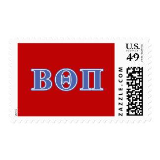 Beta Theta Pi Blue Letters Stamps