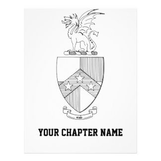 Beta Theta Pi Coat of Arms Flyer