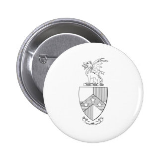 Beta Theta Pi Coat of Arms Pinback Button