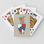 """Beta Theta Pi Coat of Arms Playing Cards<br><div class=""""desc"""">Check out these official Beta Theta Pi designs! Personalize your own Greek merchandise on Zazzle.com! Click the Customize button to insert your own name, class year, or club to make a unique product. Try adding text using various fonts &amp; view a preview of your design! Zazzle&#39;s easy to customize products...</div>"""