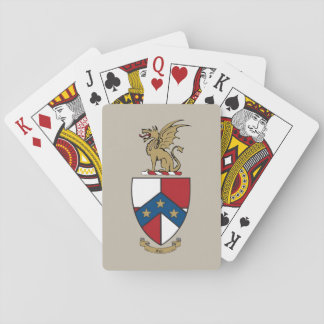 Beta Theta Pi Coat of Arms Playing Cards
