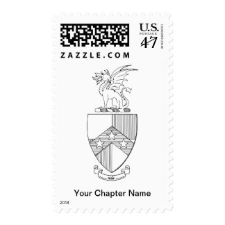 Beta Theta Pi Coat of Arms Postage