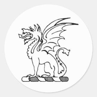 Beta Theta Pi Dragon Sticker