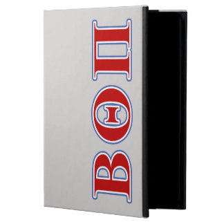 Beta Theta Pi Red and Blue Letters iPad Air Cases