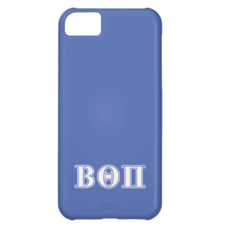 Beta Theta Pi White and Blue Letters Case For iPhone 5C