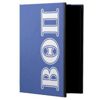 Beta Theta Pi White and Blue Letters iPad Air Cover