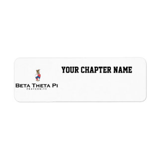 Beta Theta Pi with Crest - Color Label