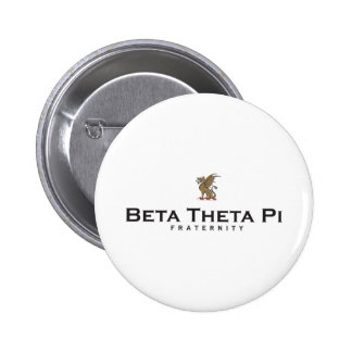 Beta Theta Pi with Dragon - Color 2 Inch Round Button