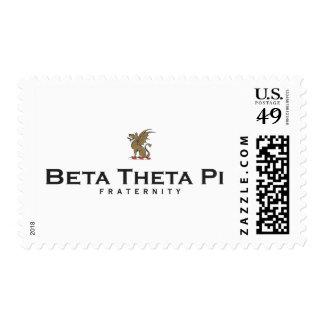 Beta Theta Pi with Dragon - Color Postage