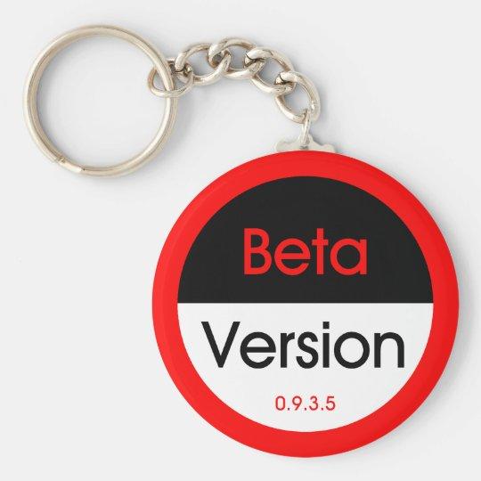 Beta Version Keychain
