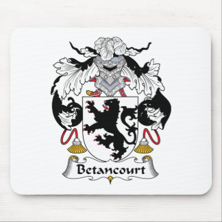 Betancourt Family Crest Mouse Pad