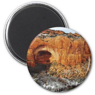 Betatakin en el monumento nacional de Navajo Imán De Frigorífico