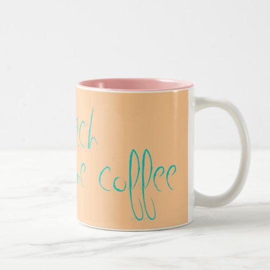 Betch, get me some coffee Two-Tone coffee mug
