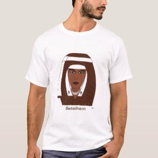 Betelhem Brn Wht T-Shirt