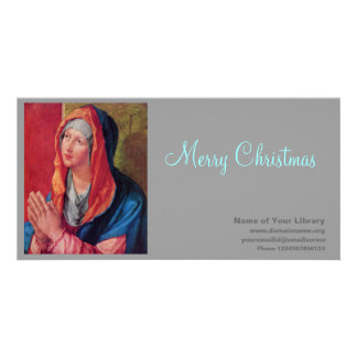 Betende Maria Card