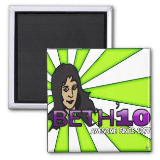 Beth'10, imán redondo