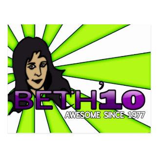 Beth'10, postal