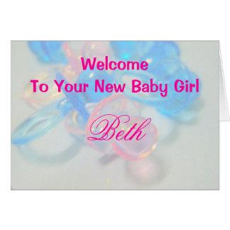 Beth Greeting Card