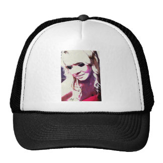 Beth Clews Glamour Model Trucker Hat