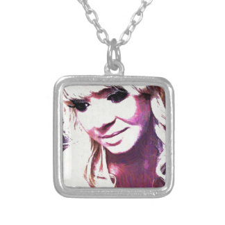 Beth Clews Oil Painting Personalized Necklace