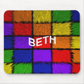 BETH ( female names ) Mouse Pad