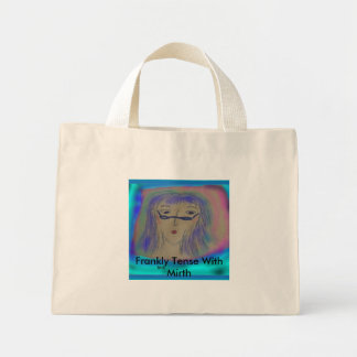 beth, Frankly Tense With Mirth Mini Tote Bag