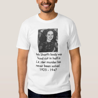 Beth Short T Shirt
