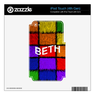BETH SKIN FOR iPod TOUCH 4G