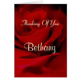 Bethany Card