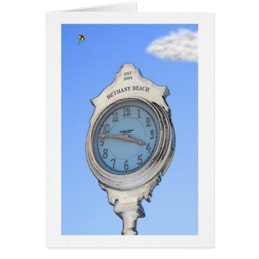 Bethany Clock and Kite Card