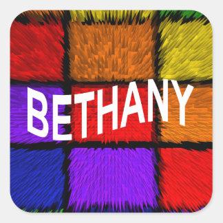 BETHANY PEGATINA CUADRADA