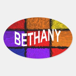 BETHANY PEGATINA OVALADA