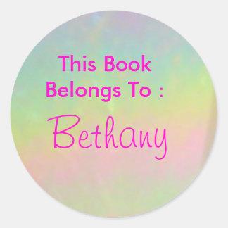 Bethany Pegatina Redonda