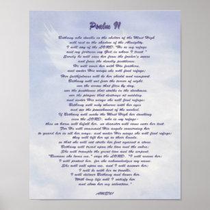 photo regarding Psalm 91 Printable called Psalm 91 Posters Photograph Prints Zazzle