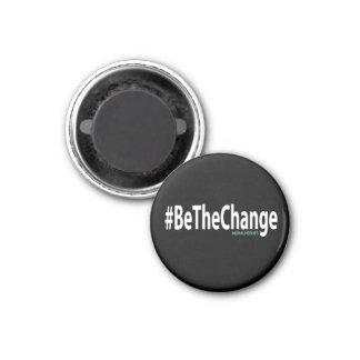 #BeTheChange Magnet (Black)