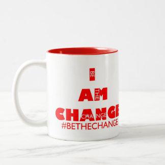 #BETHECHANGE MUG