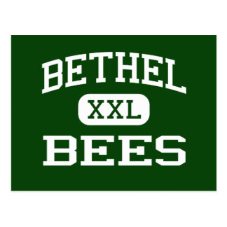 Bethel - Bees - High School - Tipp City Ohio Postcard