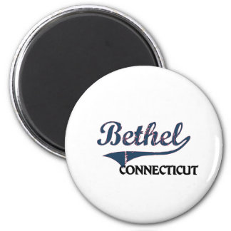 Bethel Connecticut City Classic 2 Inch Round Magnet