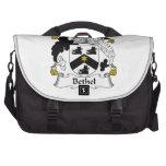 Bethel Family Crest Laptop Bags