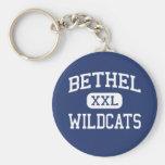 Bethel - gatos monteses - High School secundaria - Llavero Redondo Tipo Pin